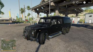Photo of FS19 – Land Rover Defender 110 Araba Modu