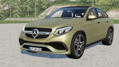 Photo of FS19 – Mercedes-Amg Gle 63 S Coupe (C292) 2015 Model Araba Modu