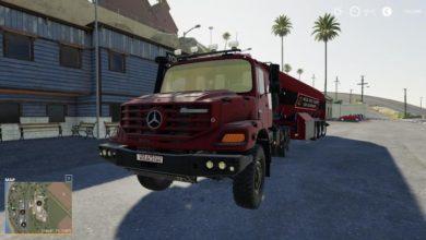 Photo of FS19 – Mercedes-Benz Zetros 3643 6X6 V2