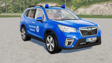 Photo of FS19 – Subaru Forester THW Araba Modu