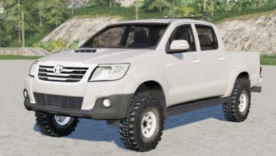 Photo of FS19 – Toyota Hilux Çift Kabinli 2011 Model Pikap Modu