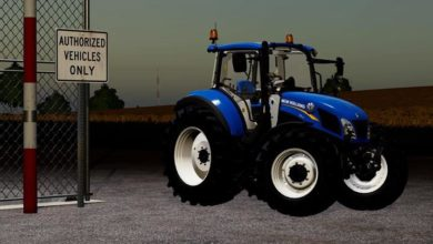 Photo of FS19 – New Holland T5 Traktör V1.1