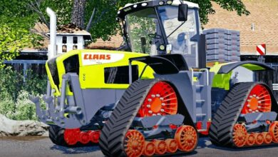 Photo of FS19 – Claas Xerion 3800 Paletli Traktör
