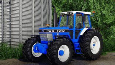 Photo of FS19 – Ford TW5 – TW15 Traktör