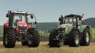 Photo of FS19 – Massey Ferguson 7700S Traktör V1.4