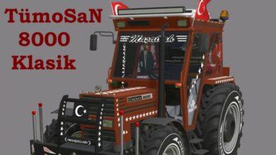 Photo of FS19 – TümoSaN 8085 Modifiyeli Traktör V2.0