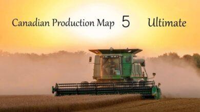 Photo of FS19 – Kanada Üretim Haritası V5.0