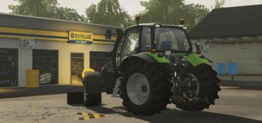 Photo of FS19 Deutz-Fahr Agrotron Traktör Modu V1.0