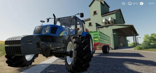Photo of FS19 New Holland Tl100A Traktör Modu V1.0